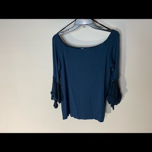 Womens Bailey 44 Size Large Blue Top (g38)